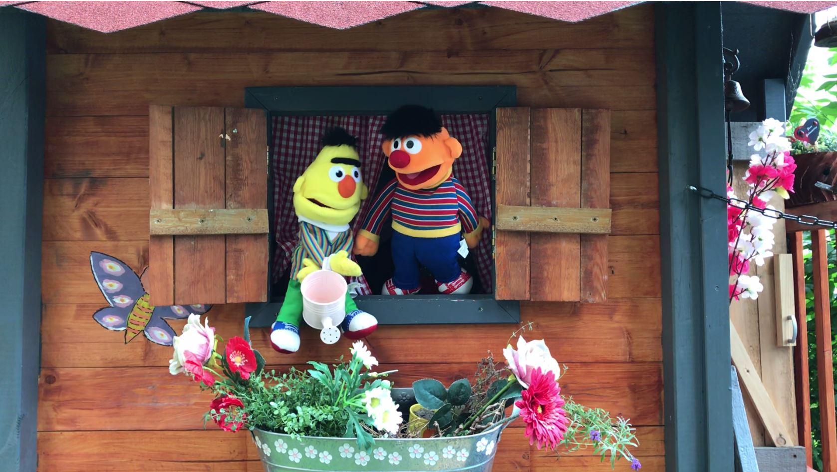 """Couragierte Kinder """"Ernie und Bert"""""""