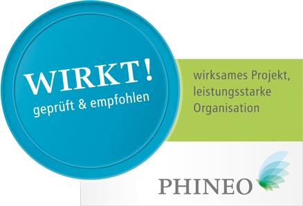 Logo PHINEO Wirkt